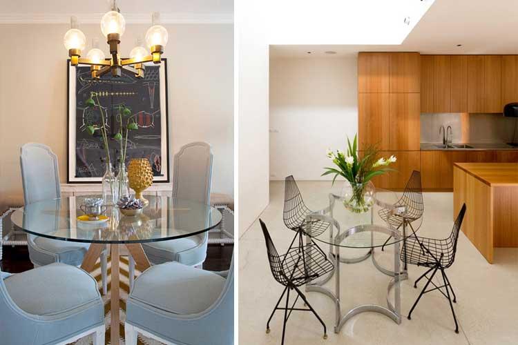 Marzua mesas de comedor redondas - Cristales para mesas redondas ...