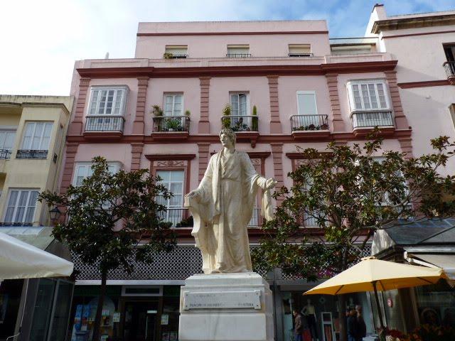 Plaza de las Flores Cádiz