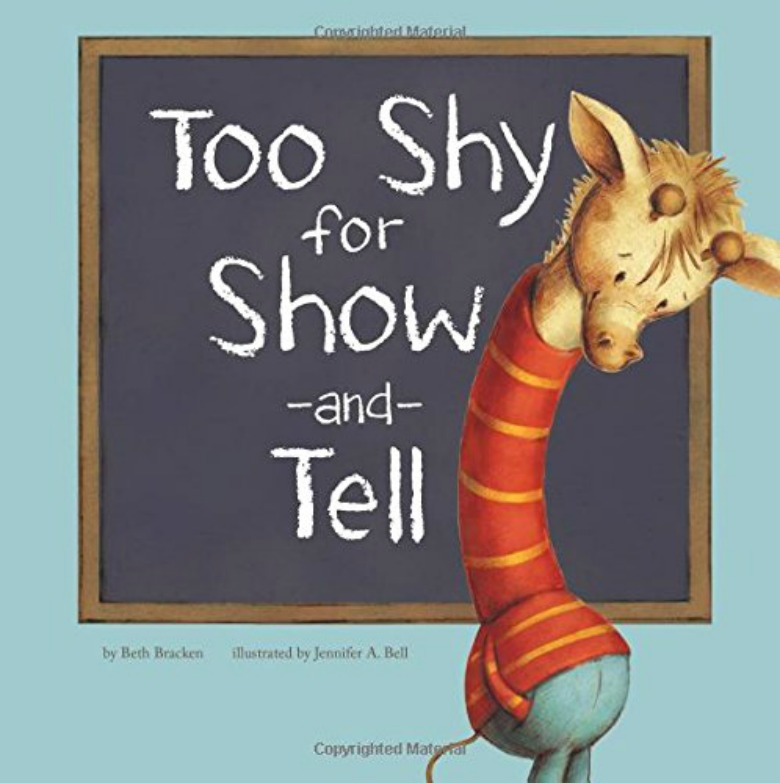 Feeling shy book - Children's books about emotions and feelings for preschoolers