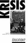 Revue Krisis en vente sur Krisis Diffusion http://krisisdiffusion.com