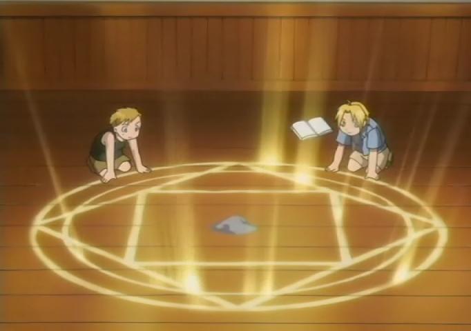 Resultado de imagem para fullmetal alchemist ritual