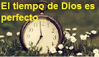 Devocionales cristianos: Dios llega en el momento preciso