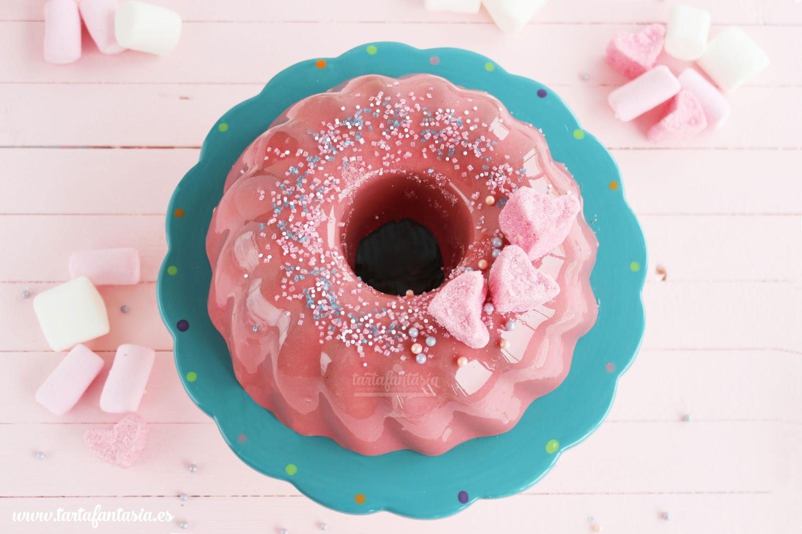 Cobertura espejo para tarta y pasteles tartafantas a for Decoracion de tortas espejo