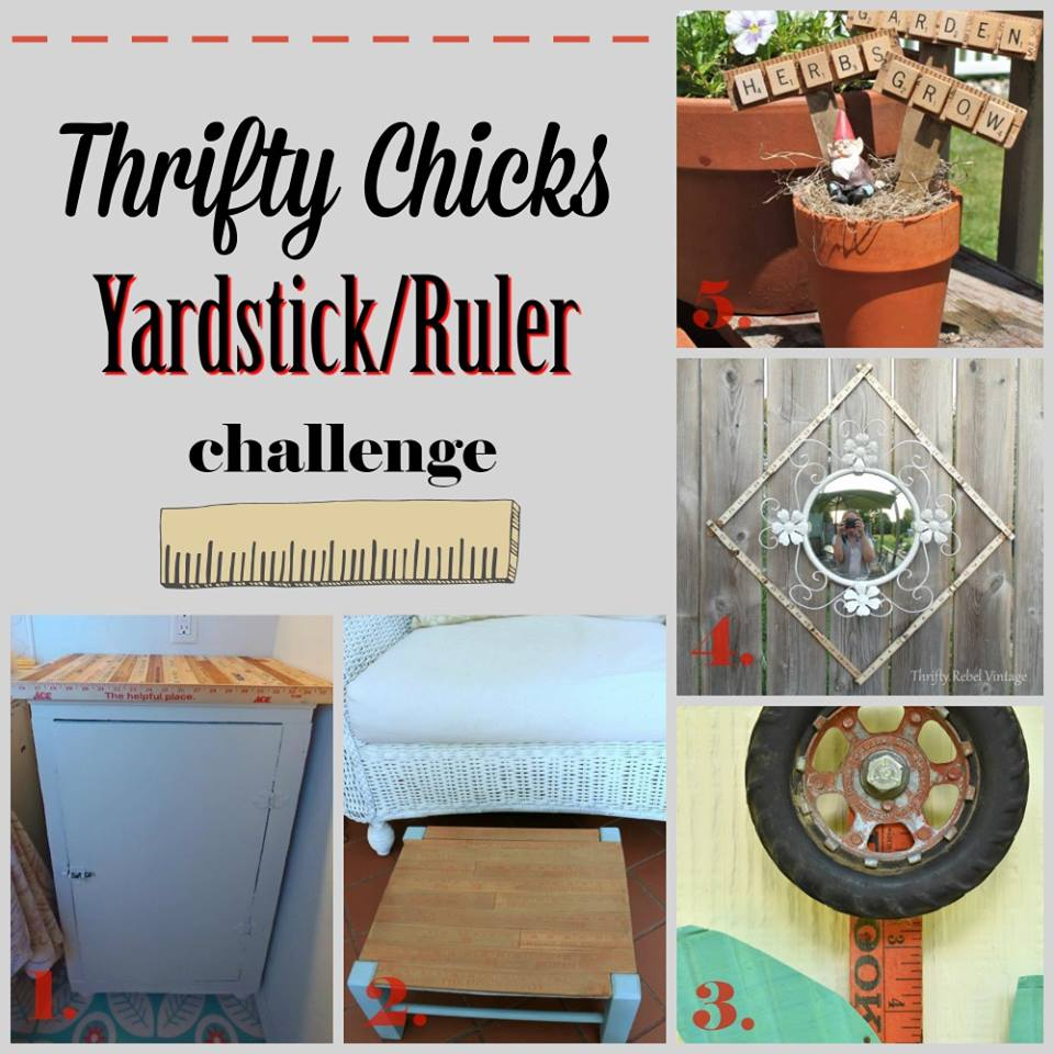 Thrifty Chicks Yardstick Challenge