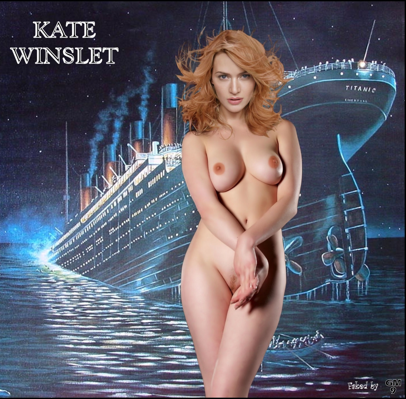 Kate Winslet Nude Titanic