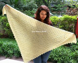 free crochet shawl pattern, free crochet wrap pattern, free crochet scarf pattern,