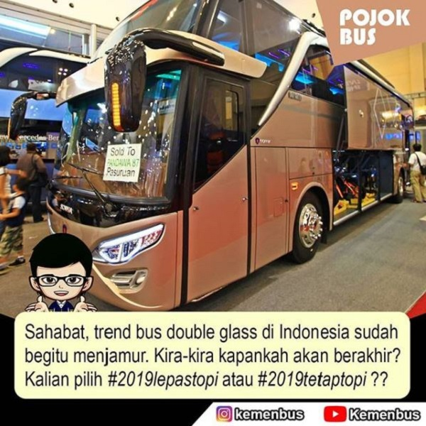 Trend Bus Double Glass