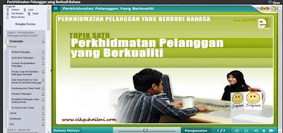 Tutorial Untuk Mulakan Kursus Online EPSA