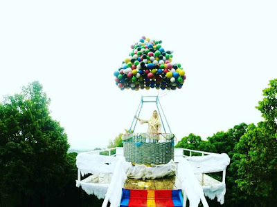 Spot Rumah Balon Film UP