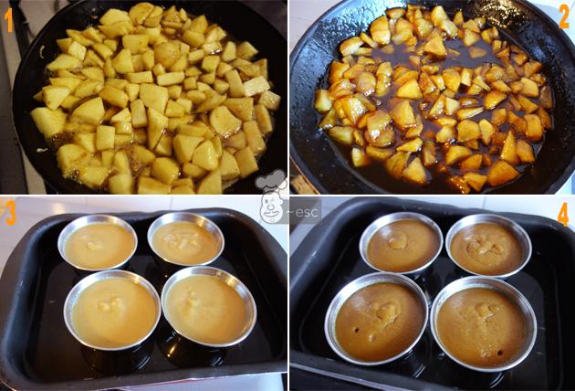 Como hacer manzana caramelizada paso a paso