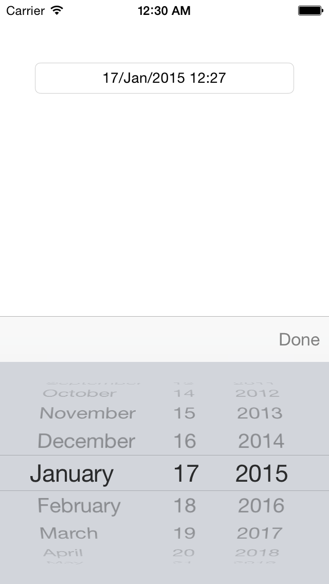 Create And Use Date Picker Uidatepicker To Select A Date Learn