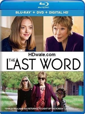 The Last Word (2017) Movie English 1080p & 720p BluRay