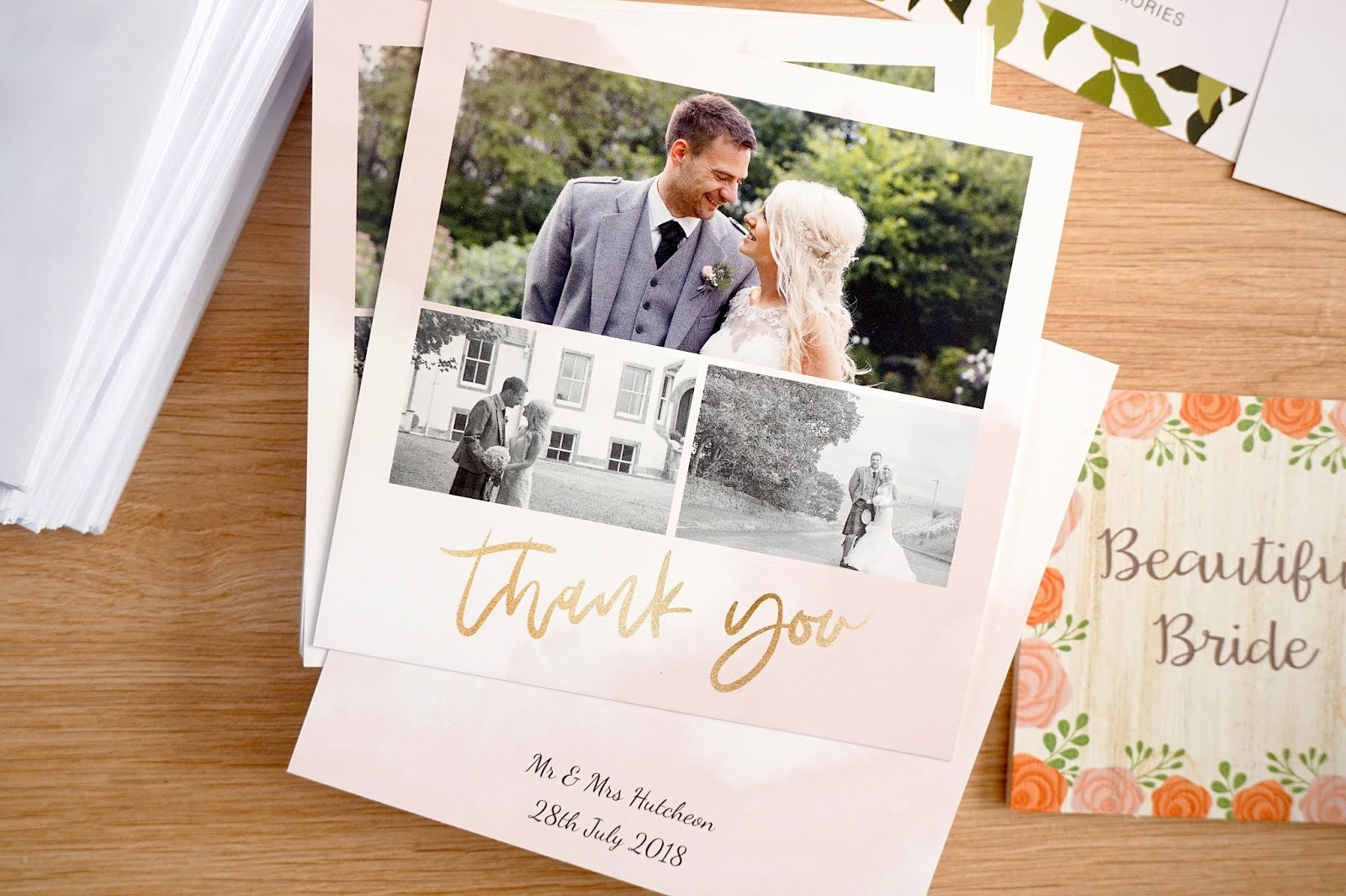 Our Order Arrived Really Quickly Within 3 Days And We Were Impressed By The Quality Photos Printed So Bright Clearly Card Is