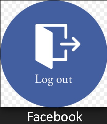 facebook logout page link