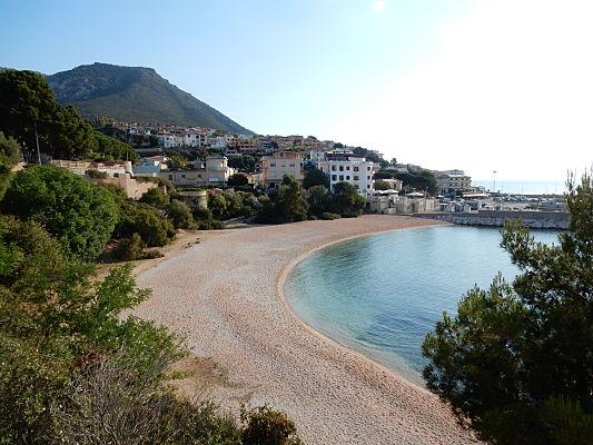 praia cala gonone sardenha sardinia