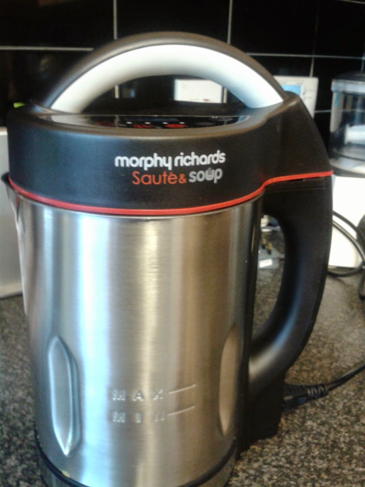 The Two Olives: Morphy Richards Sauté and Soup Maker