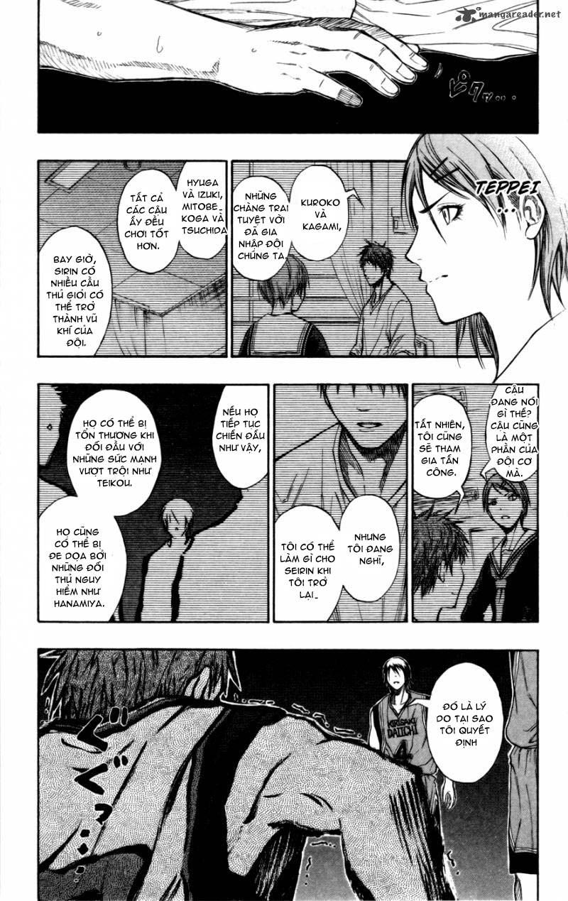 Kuroko No Basket chap 102 trang 17