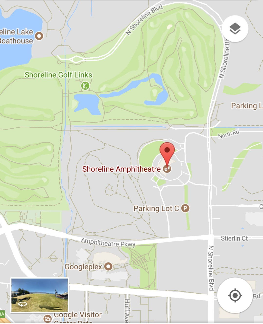 Google I/O 2018 Event Location On Maps