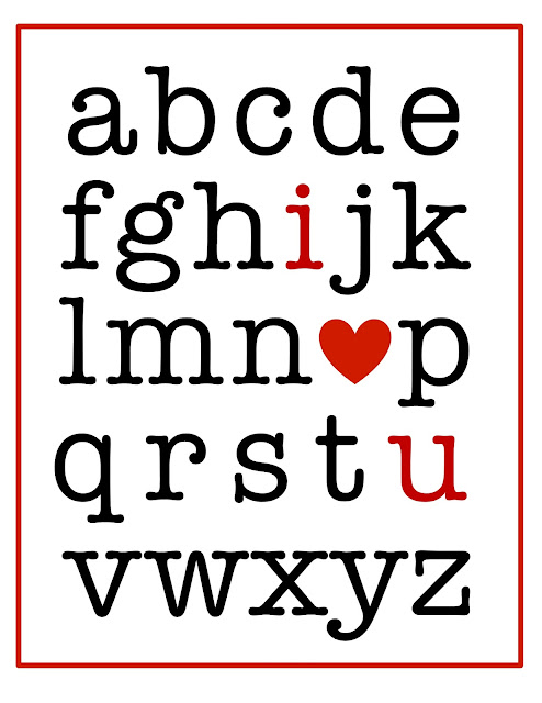 20 Free Valentine Printable Signs via Mandy's Party Printables from Bloom Design
