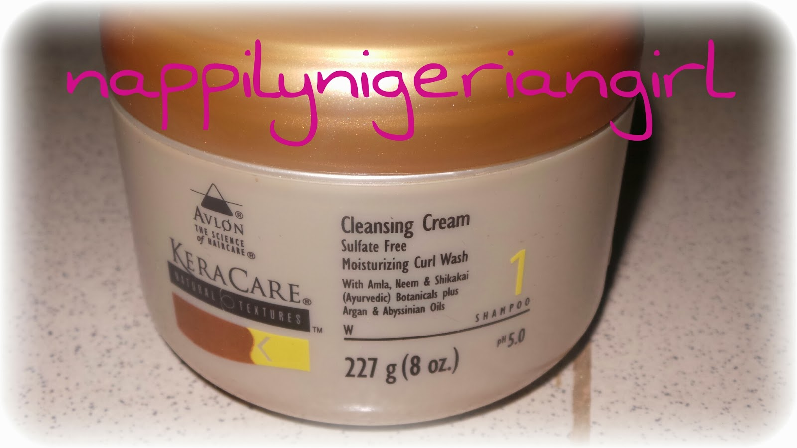 Product Review Keracare Natural Textures Cleansing Cream
