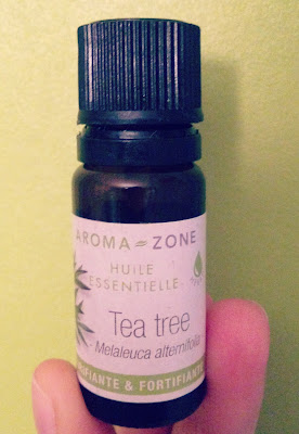 DIY, tea tree, huile essentielle, aroma zone