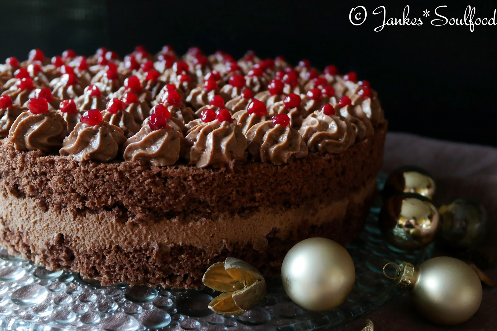 Schokomousse-Torte