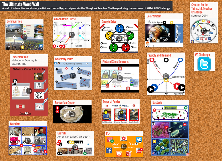 Thinglink is very popular in the education world, helping teachers make their classes more interactive.