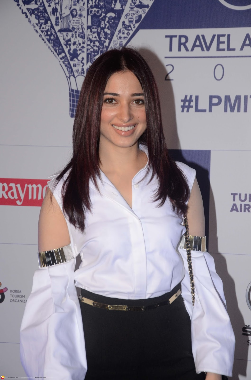 Tamanna At lonely Planet Magazine Awards 2017 In White Shirt