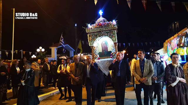 Η Νέα Κίος στην Αργολίδα γιορτάζει την Αγία Ειρήνη την Μεγαλομάρτυρα (βίντεο)