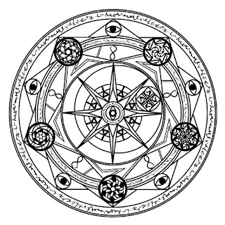 How to draw a magic circle for your rituals