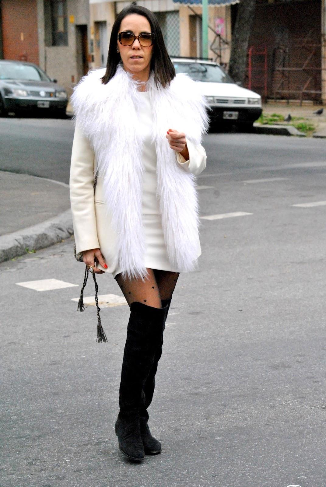 Como Vestir Blanco En Invierno How To Wear White In Winter