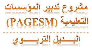المخطط التنفيذي لمشروع دعم تدبير المؤسسات التعليمية بالمغرب، PMOP-PAGESM