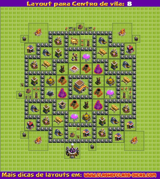 http www clashofclans dicas com 2014 10 layout clash of clans cv8