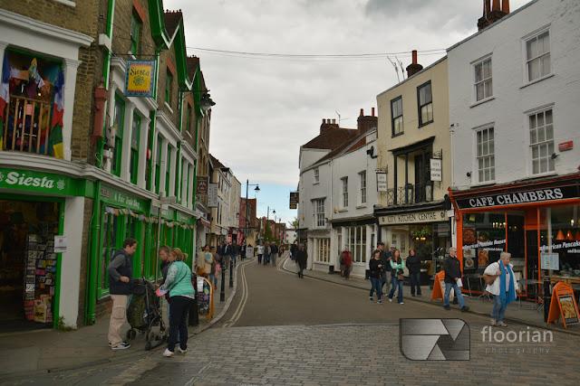 Ulice w Canterbury