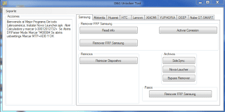 DG FRP Lock Remove/Unlock/Bypass Tool free download,