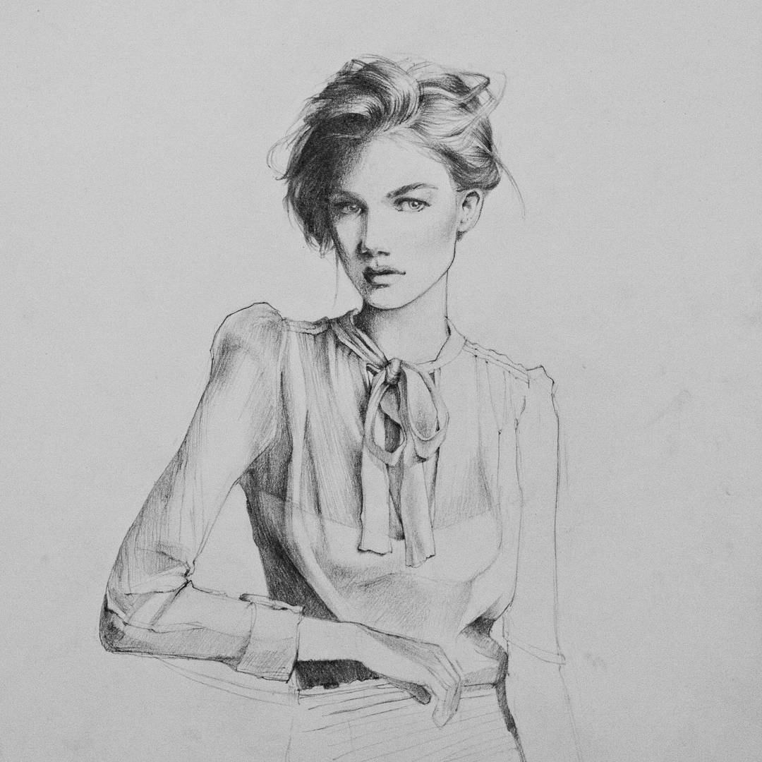 10-Polina-Ishkhanova-Полина-Ишханова-Portrait-Drawings-and-one-Celebrity-Group-www-designstack-co