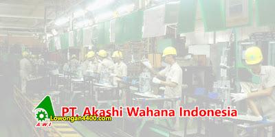 Lowongan Kerja Operator PT. Akashi Wahana Indonesia (PT. AWI) Tahun 2021