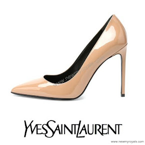 Princess Sofia style YSL Paris Patent Leather Pump
