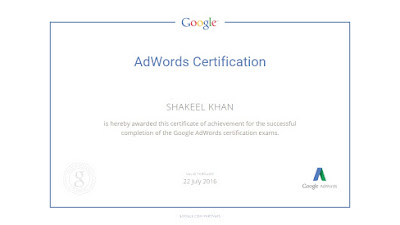 Google Adwords Certified & Bing Ads Accreditation