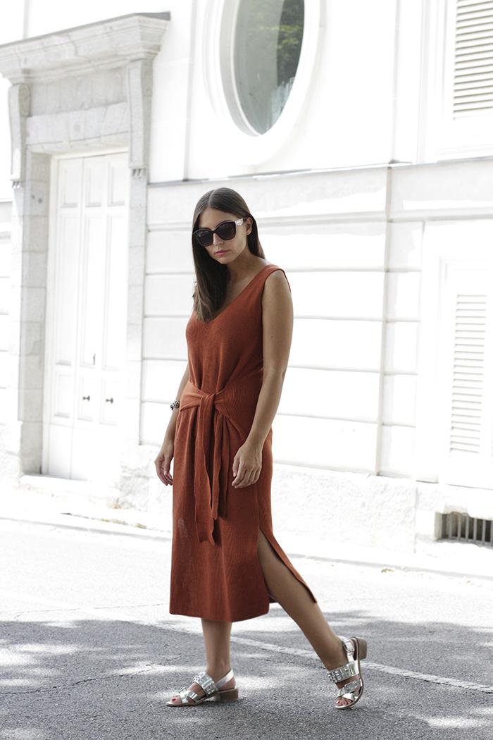 All That She Wants Blog De Moda Vestido Midi Y Sandalias Joya