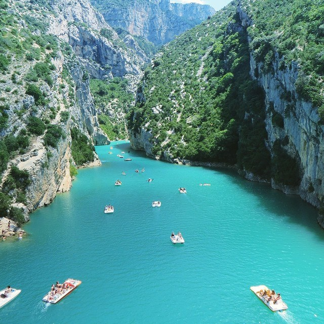 20 Spots In Europe You Must See Before You Die - The Gorges Du Verdon, south-eastern France.