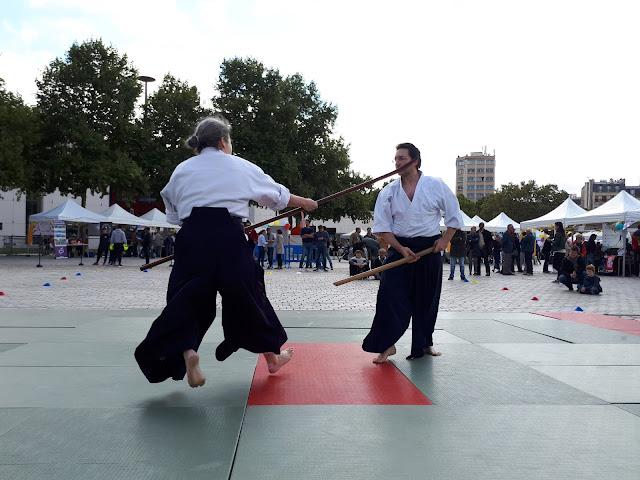 Naginata jutsu de l'école Katori Shinto Ryu