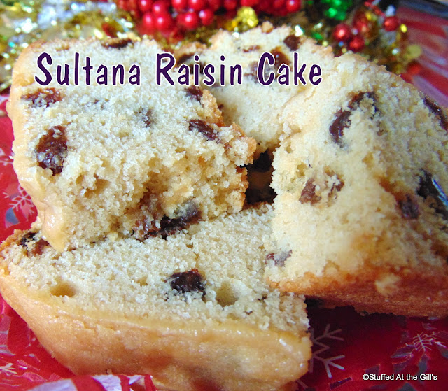 Sultana Cake With Brown Sugar