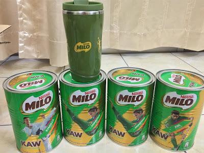 Lazada Nestle Official Store Milo Kaw Free Milo Flask
