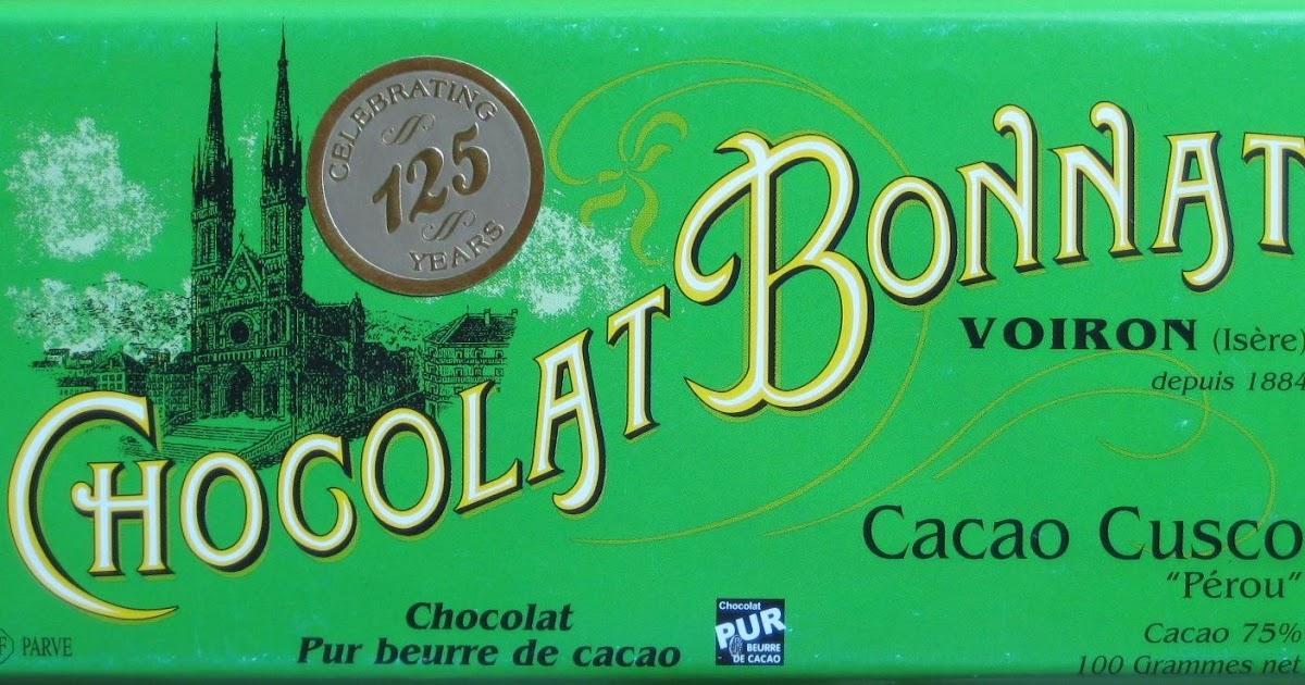 One Golden Ticket: Review: Bonnat Cacao Cusco Pérou