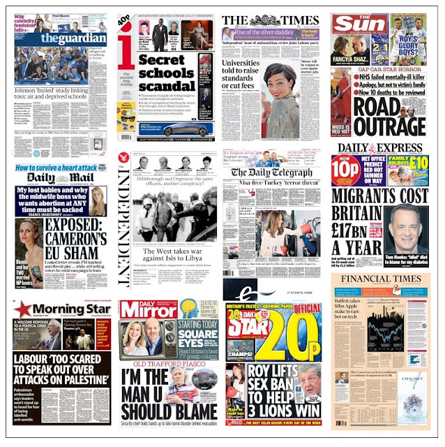 front pages 17-05-16
