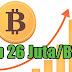 Rugi Tidak Nabung Bitcoin, 10 Hari Naik 10 Juta/BTC. Dapatkan Bitcoin Gratis Disini