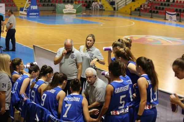 Ευρωπαϊκό Κορασίδων U16β : Ελλάδα-Ισλανδία 59-30