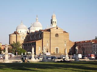 The impressive Basilica di Santa Giustina in Padua