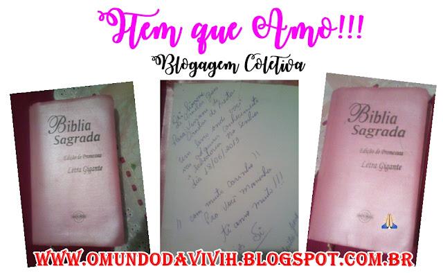 Item Que Amo!!! Blogagem Coletiva